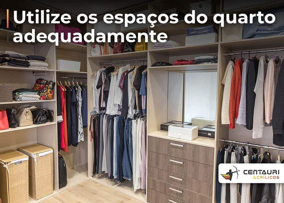 closet organizado