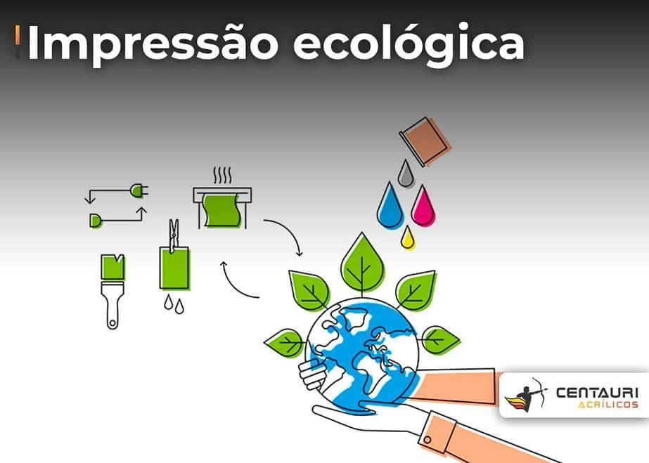 impressão ecológica