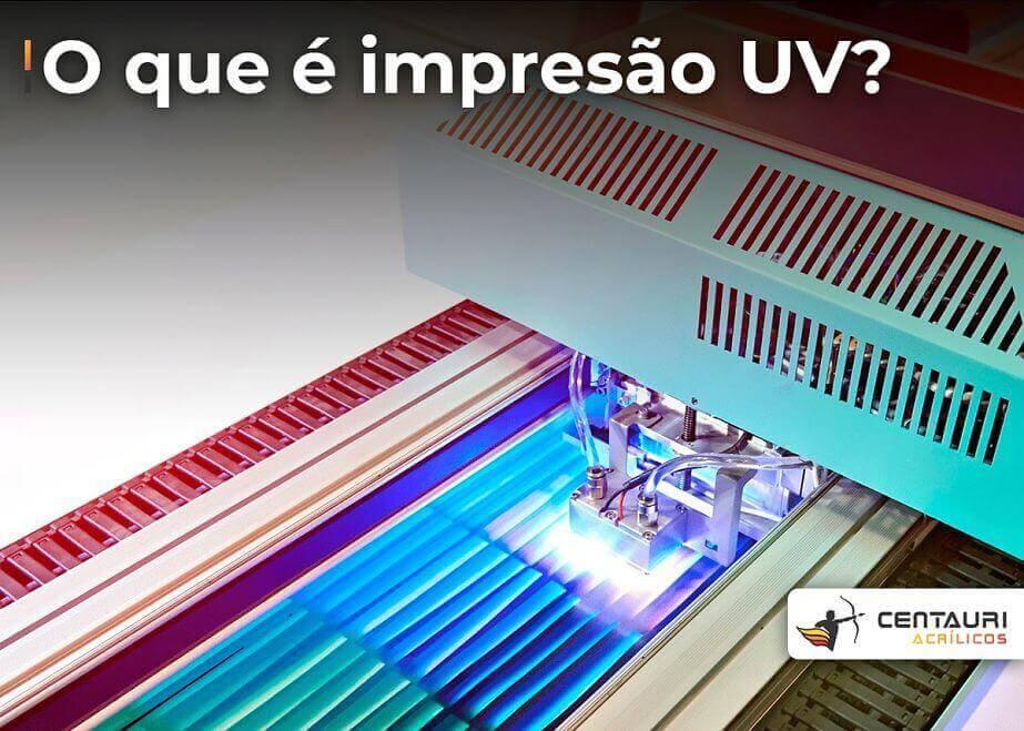 o que é impressão UV