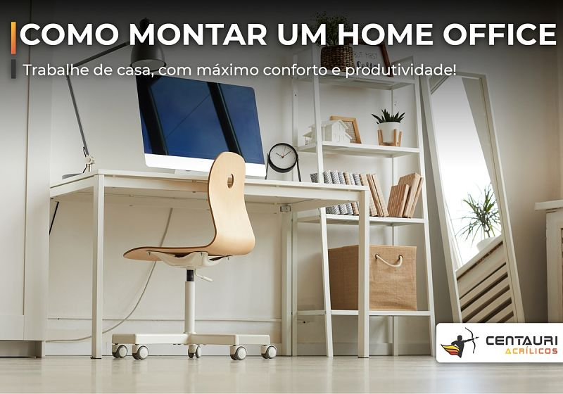 como montar um home office