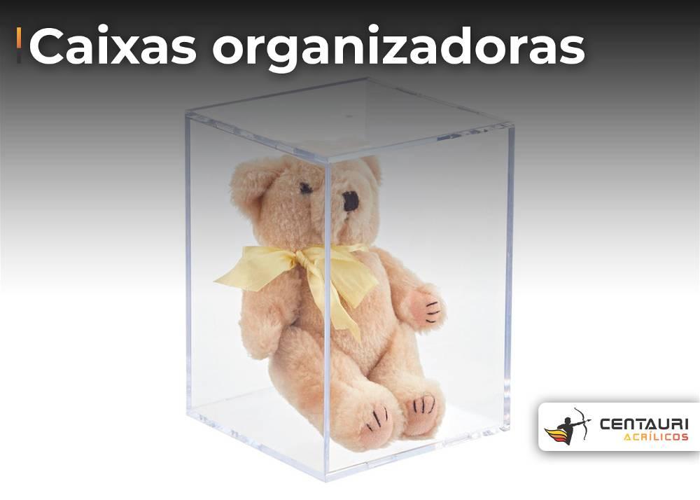 caixas organizadoras de acrilicos para guardar brinquedo