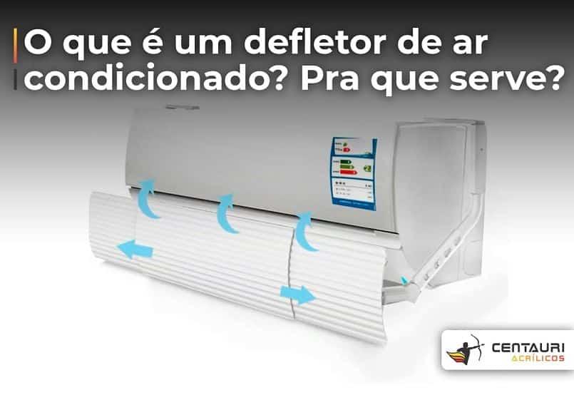 defletor de ar condicionado tipos de saída de ar