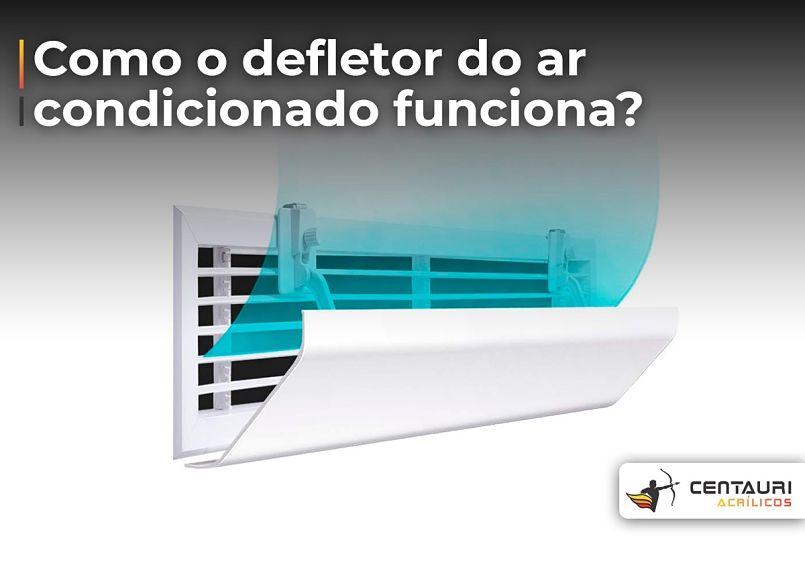 defletor de ar condicionado virado para cima