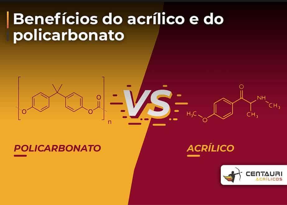 fórmula e policarbonato vs fórmula de acrílico