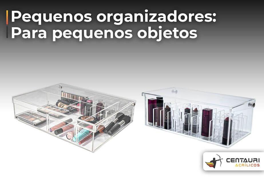 organizador de acrílico para escritório