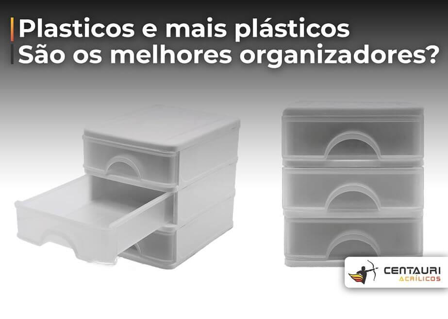 organizador de plastico com gavetas
