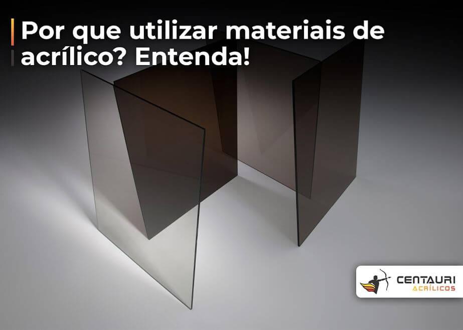 placas de acrílico transparente e preto